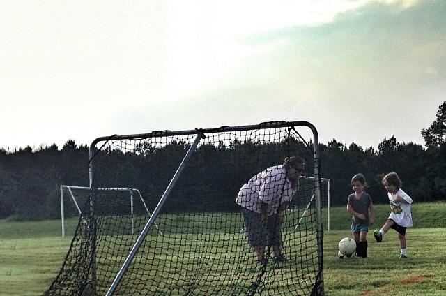 Hudson's 1st Soccer Practice
