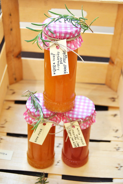 Peach and Rosemary Jam