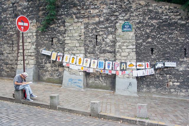 La Galerie Portable, Montmartre