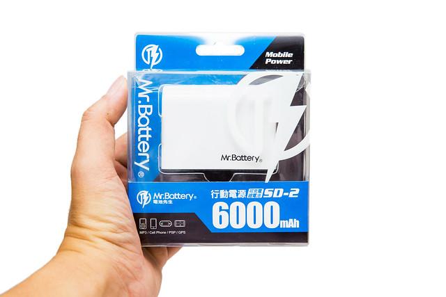 行動電池注意事項 & Mr.Battery 電池先生 6000mAh 輕巧行動電源 Sundae SD2 開箱文 @3C 達人廖阿輝