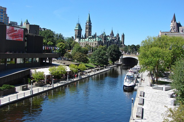 Rideau Canal by CC user miroab on Flickr