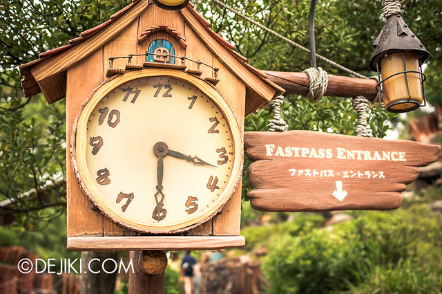 Splash Mountain - Fastpass Return
