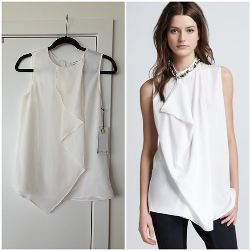 3.1 Phillip Lim for Target vs. Similar full price top found at Neiman Marcus
