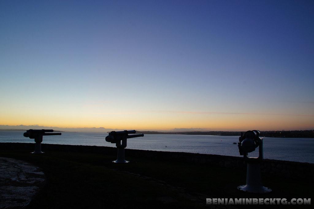 Sunrise at North Head #1
