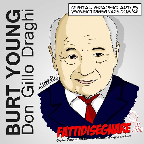 Burt Young by Giuseppe Lombardi