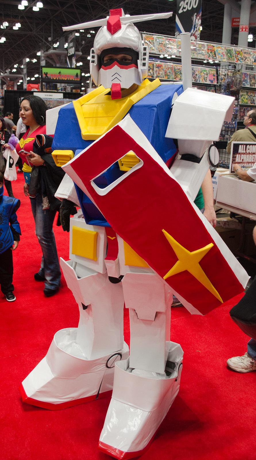 NYCC 2013 Gundam Cosplay