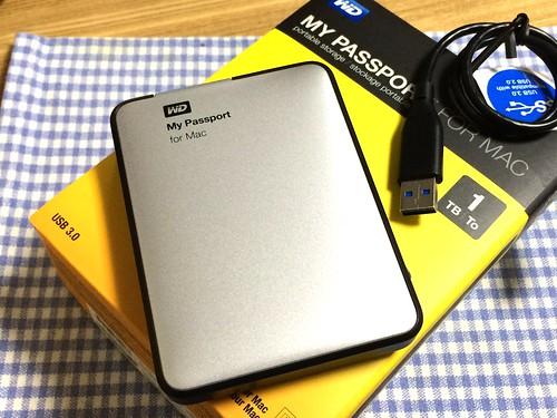 My Passport for Mac (1TB)