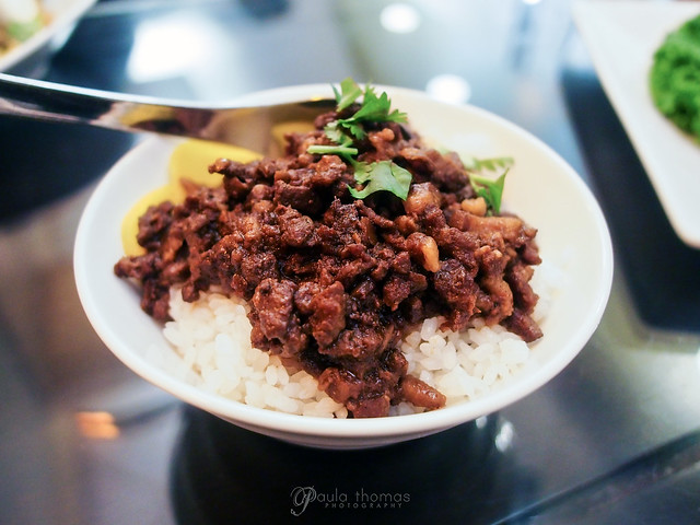 Spiced Pork Stew over Rice