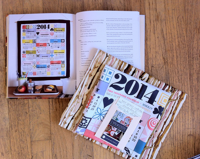 Sewing for all Seasons calendar prize