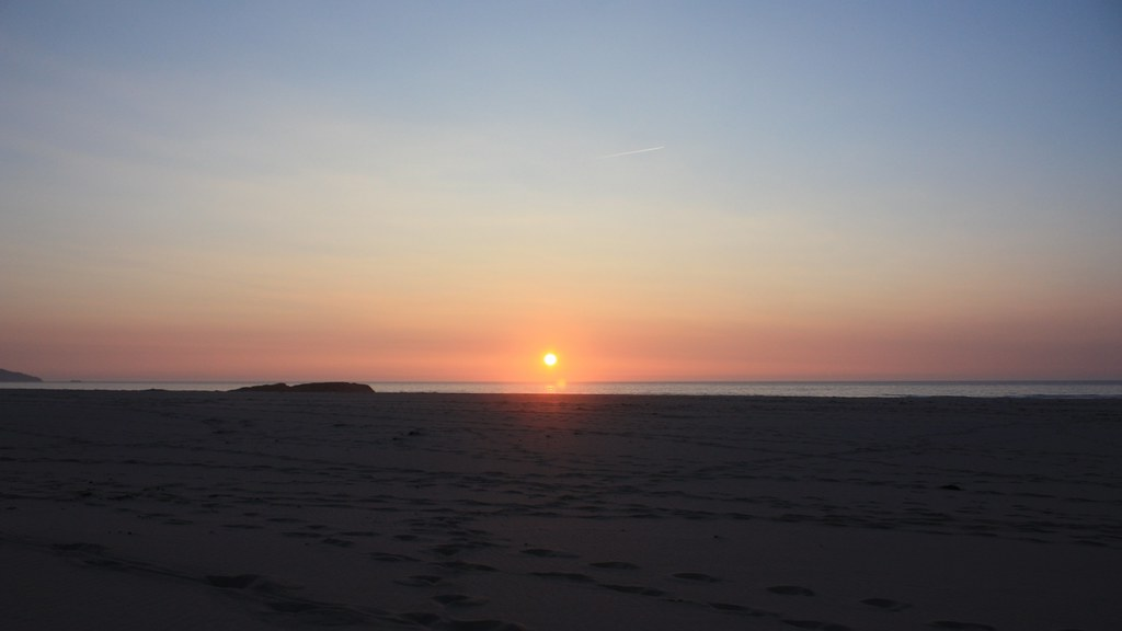 Sandwood Bay sunset