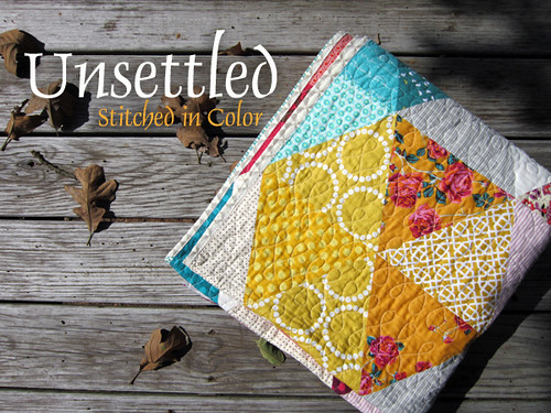 Unsettled quilt