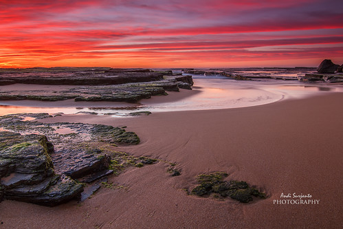 seascape sunrise moss sydney nsw beaches reverse northern gnd nd8 turimetta