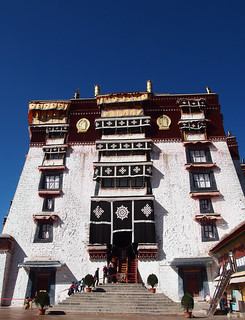 Attēls no Potala Palace pie Lhasa. tibet 西藏 potalapalace 布達拉宮