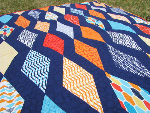 DIamonds Baby Quilt