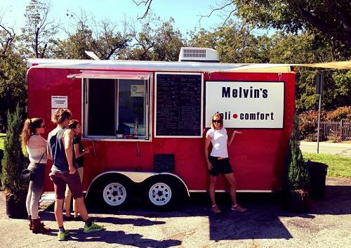 Melvin's deli comfort Austin Texas