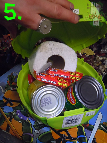 DISGUISE :: TMNT Folding Pumpkin Pail x (( 2004 ))