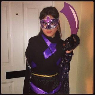 Best ever Halloween ninja princess costume from @minimoobear