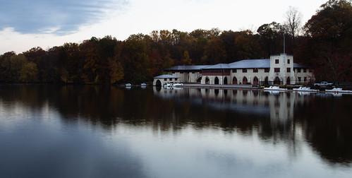 morning autumn fall water boats dawn newjersey unitedstates nj crew princeton rowing boathouse lakecarnegie classof1887boathouse shearowingcenter