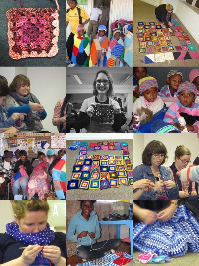Knitting Or Crocheting For Charity : Knit or crochet a square for charity with me