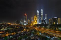 Kuala Lumpur on Friday Night