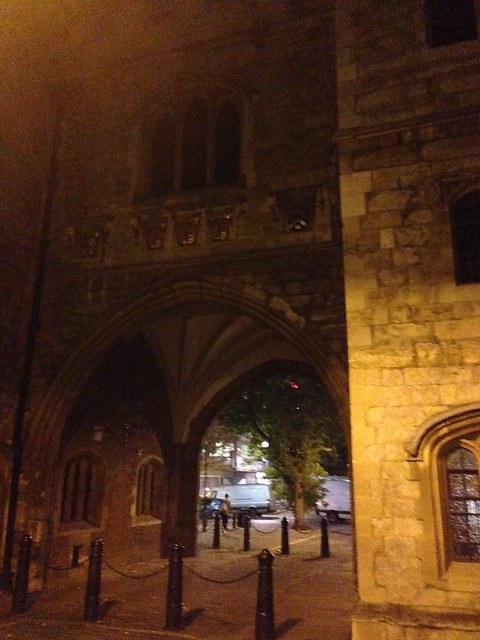 St. John's gate between Clerkenwell and Smithfield