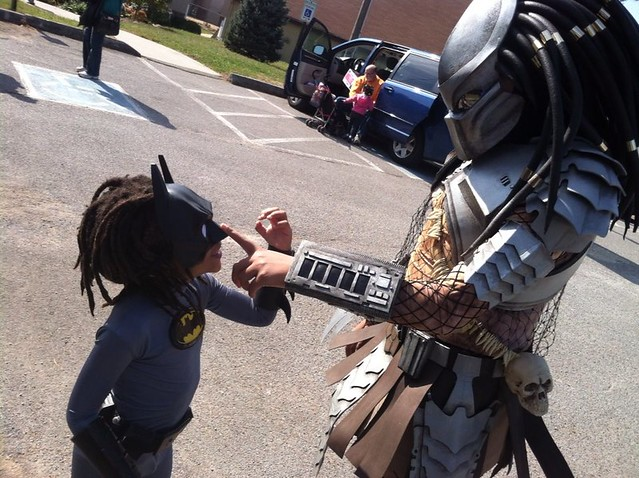 Kids Predator Halloween Costume My Favorite Pic This Halloween Was