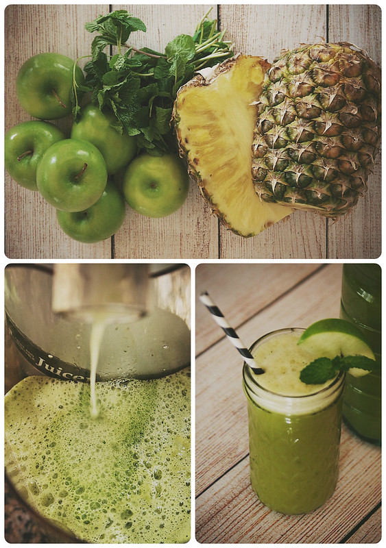 Pineapple Juice Collage
