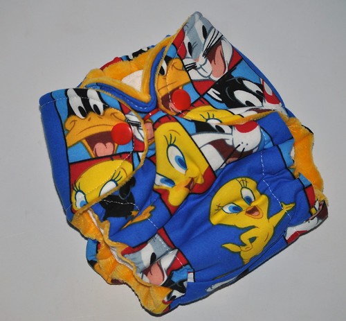 Bumstoppers Newborn Looney Tunes  Hybrid Fitted Old Style