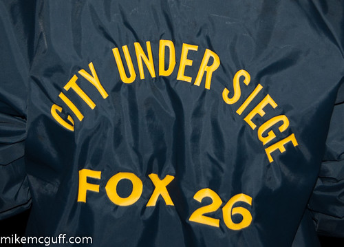 "Fox 26 KRIV ""City Under Siege"" jacket"