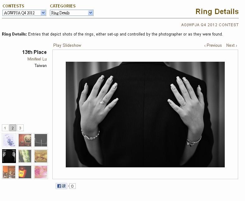Ring Details,WPJA,AGWPJA,ISPWP,Fearless,DCView,minifeel,macro,結婚戒指
