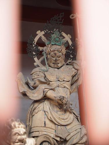 仁和寺 中門 東方天