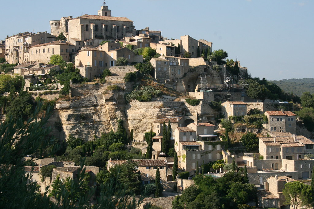 the Luberon - Lipoulidetto- France