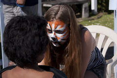 Facepainting at the Market