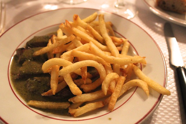 restaurante entrecote paris