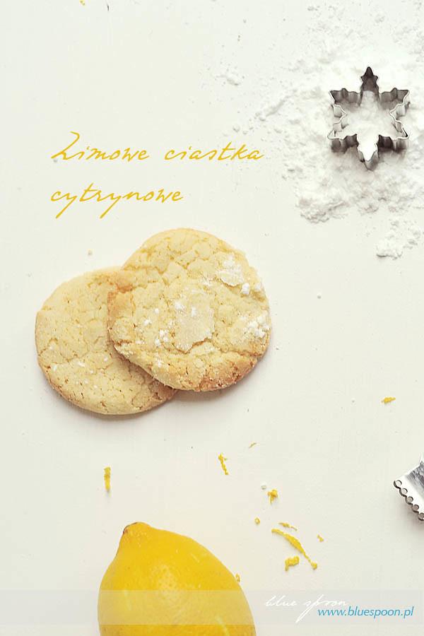 ciasteczka cytrynowe - przepis i zdjęcia
