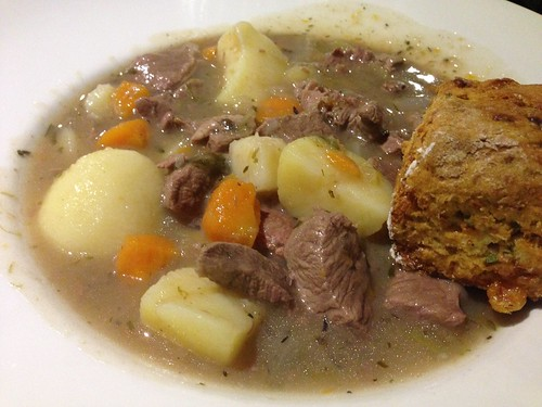 Irish stew at Arlington Hotel
