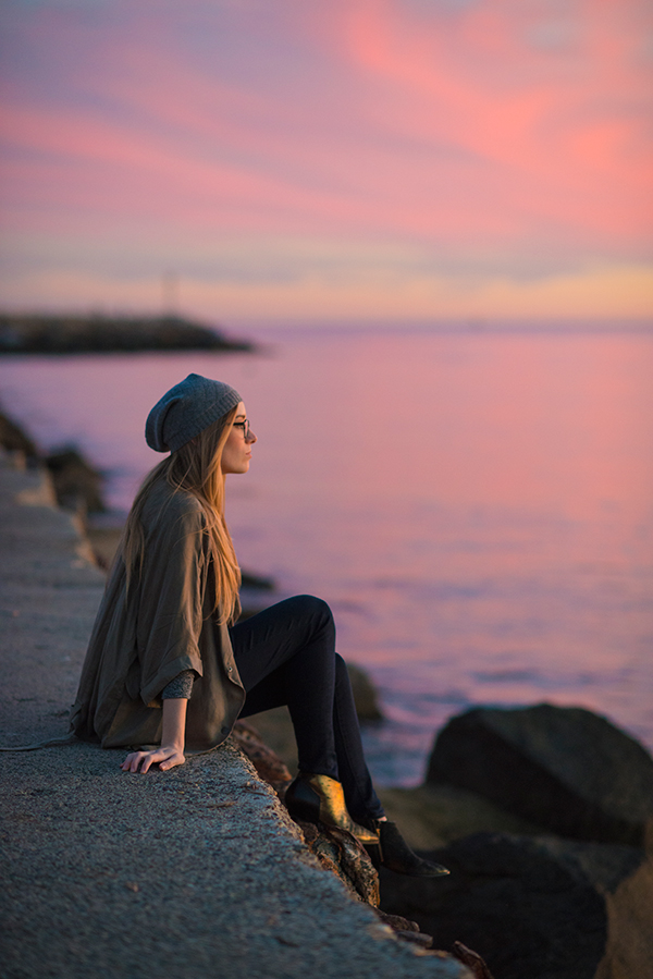 eatsleepwear, outfit, sunset, newport-beach