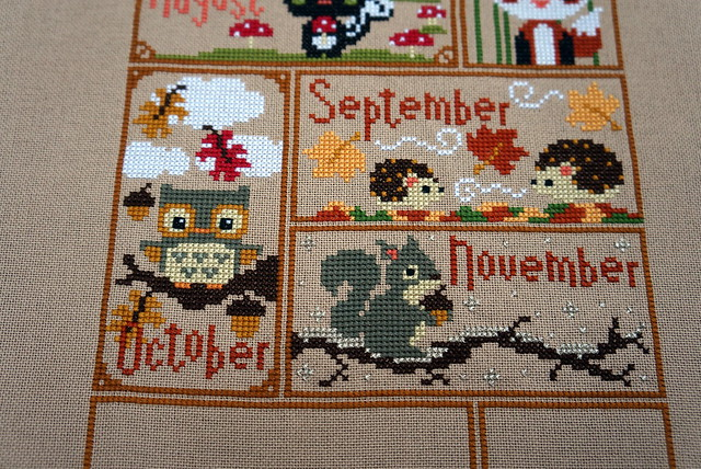 Fall Woodlands Sampler