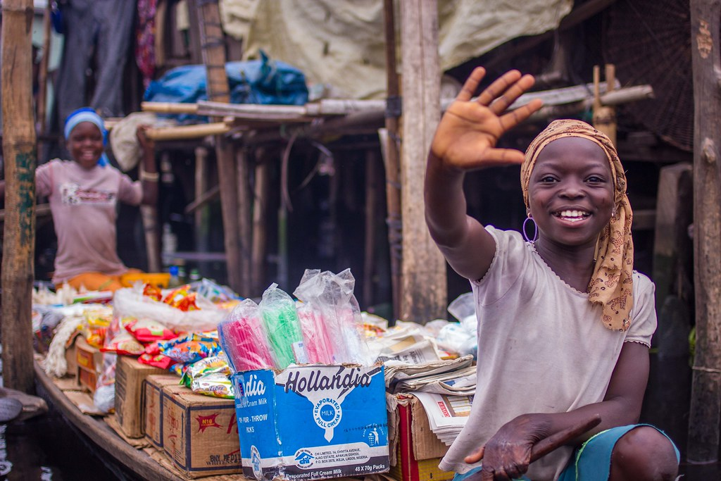 Grocery store in Makoko, Lagos Nigeria