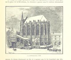 """British Library digitised image from page 223 of """"Paris de siècle en siècle. Le cœur de Paris, splendeurs et souvenirs. Texte, dessins et lithographes par A. Robida"""""""