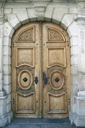 Doorway to St Peter's Chapel