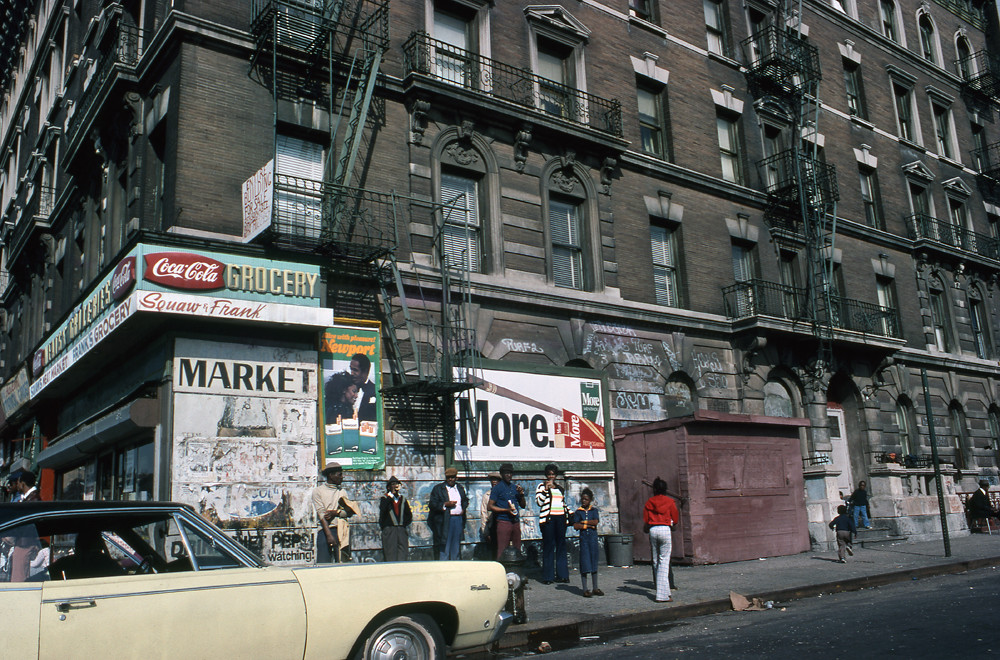 GROCERIES IN HARLEM