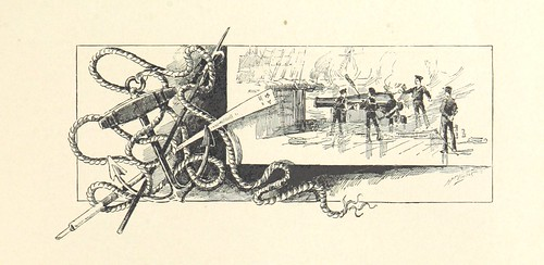 Image taken from page 17 of 'Blue Jackets of '61. A history of the navy in the War of Secession ... With illustrations, principally by W. C. Jackson'