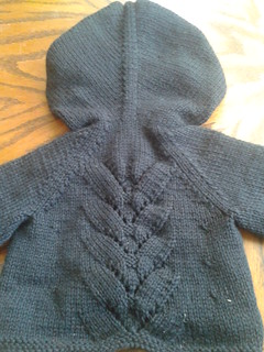 Little Black Baby Sweater