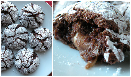 Mrs. Fields Secrets Rolo Stuffed Cookies