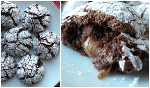 Mrs. Fields Secrets Rolo Stuffed Cookies