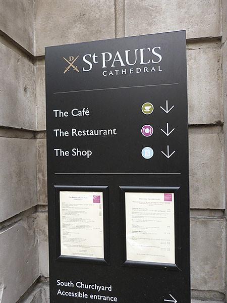 saint paul's café