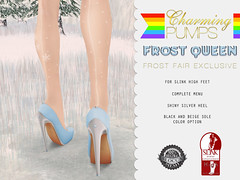 Frost Fair Exclusive / Starts December 13th / Charming Pumps - Frost Queen ♥