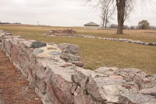 ruins at Fort Ridgely