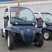 MassDOT posted a photo:	Electric vehicles parked at Marlboro Airport